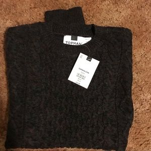 Topman cable-knit sweater, xxs, new with tags